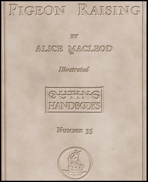 Pigeon Rasing by Alice Macleodcoperta