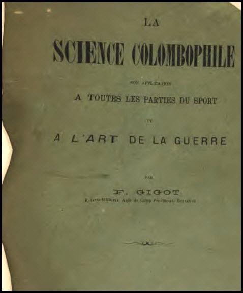Science colombophile par Felix Gigotcoperta