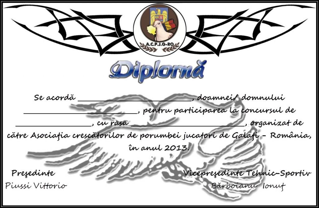 DIPLOMA pt Concurs ACPJG-RO